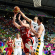 Kisistof Lavrinovic 2014 FIBA Basketball World Cup - Day Nine