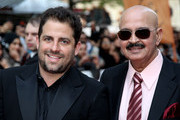 Brett Ratner and  Rakesh Roshan attends the European Premiere of 'Kites' at Odeon West End on May 18, 2010 in London, England.
