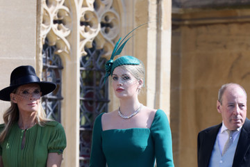 Kitty Spencer Prince Harry Marries Ms. Meghan Markle - Windsor Castle