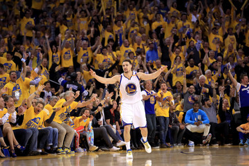 Klay Thompson Portland Trail Blazers v Golden State Warriors - Game Two