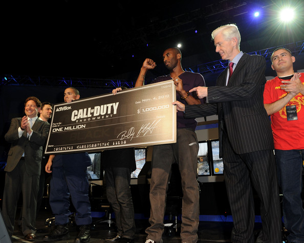 Call Of Duty: Black Ops Launch Party - Show. In This Photo: Kobe Bryant,