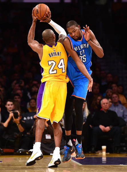 f83c88b1afca Kobe Bryant and Kevin Durant Photos»Photostream · Pictures · Oklahoma City  Thunder v Los Angeles Lakers