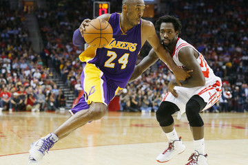 Kobe Bryant Los Angeles Lakers v Houston Rockets