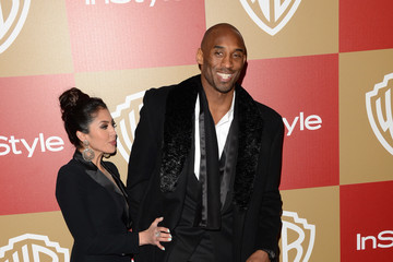 Kobe Bryant Vanessa Bryant 14th Annual Warner Bros. And InStyle Golden Globe Awards After Party - Arrivals