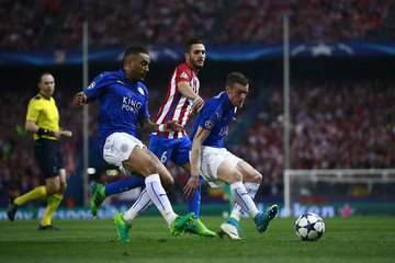 Koke Club Atletico de Madrid v Leicester City - UEFA Champions League Quarter Final: First Leg