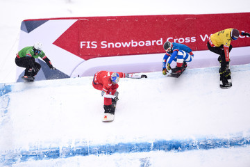 Konstantin Schad FIS Freestyle Ski World Cup - Men's and Women's Snowboardcross