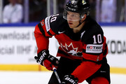 Brayden Schenn of Canada skates against Korea during the 2018 IIHF Ice Hockey World Championship group stage game between Korea and Canada at Jyske Bank Boxen on May 6, 2018 in Herning, Denmark.