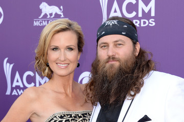 Korie Robertson Willie Robertson 48th Annual Academy Of Country Music