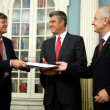 James Steinberg Kosovo Signs Agreement With International Monetary Fund