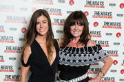 (L-R) Louise Michelle and Vicki Michelle attend 'The Krays: Dead Man Walking' UK premiere at The Genesis Cinema on September 9, 2018 in London, England.