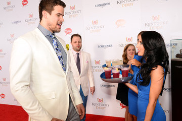 Kris Humphries GREY GOOSE Lounge at Kentucky Derby
