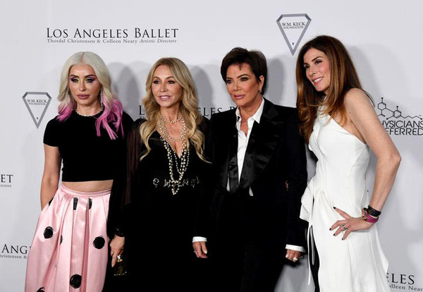 Los Angeles Ballet Gala 2020 [fashion,event,premiere,dress,fashion design,formal wear,fashion accessory,style,fashion designer,carpet,claudia soare,anastasia soare,kirsten sarkisian,kris jenner,l-r,santa monica,california,the broad stage,los angeles ballet gala,los angeles ballett gala 2020,celebrity,fashion,public relations,socialite,stx it20 risk.5rv nr eo,carpet,supermodel,formal wear,event,public]
