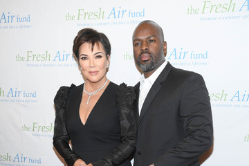 Kris Jenner Corey Gamble The Fresh Air Fund Annual Spring Benefit