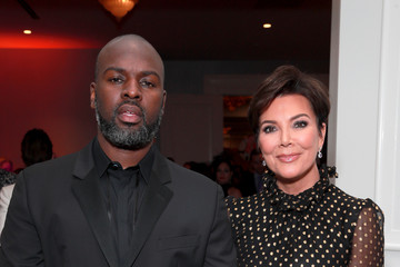 Kris Jenner Corey Gamble 26th Annual Race To Erase MS - Cocktail Reception And Silent Auction