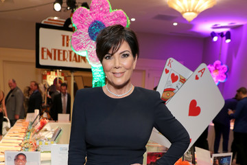 Kris Jenner 24th Annual Race To Erase MS Gala - Cocktail Reception And Silent Auction