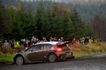 Kris Meeke FIA World Rally Championship Great Britain - Day Two