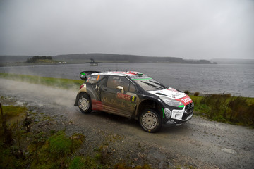 Kris Meeke FIA World Rally Championship Great Britain - Day Three