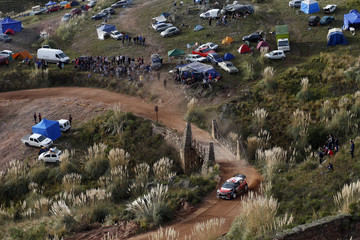 Kris Meeke FIA World Rally Championship Argentina - Day Four