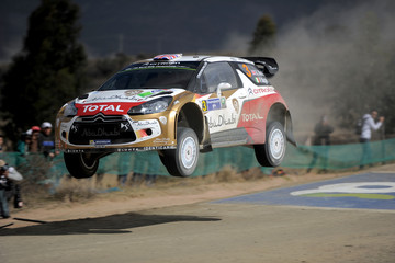 Kris Meeke FIA World Rally Championship Mexico - Day Two