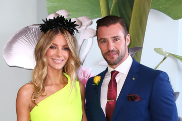 Kris Smith Celebrities Attend Melbourne Cup Day