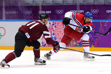 Kristaps Sotnieks Winter Olympics: Ice Hockey