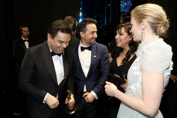 Kristen Anderson Lopez 90th Annual Academy Awards - Backstage