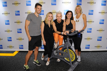 Kristen Bell Kristen Bell Teams Up with SoulCycle