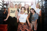 (L-R) Ariana Madix, Brittany Cartwright, Kate Maloney, Kristen Doute, Lala Kent, Scheana Marie, and Stassi Schroeder attend Kristen Doute's James Mae Launch Party on June 28, 2018 in West Hollywood, California.