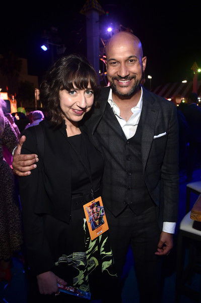 The World Premiere Of Disney And Pixar's 'TOY STORY 4' [toy story 4,event,fashion,night,suit,formal wear,performance,fashion accessory,fashion design,premiere,party,keegan-michael key,kristen schaal,l-r,hollywood,ca,pixar,world premiere of disney,disney,world premiere]