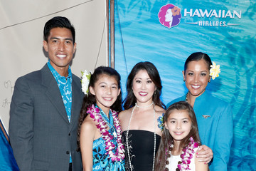 Kristi Yamaguchi Hawaiian Airlines at the World Premiere of Disney's 'Moana'