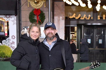 Kristian Bush 92nd Annual Macy's Thanksgiving Day Parade - Rehearsals Day 2
