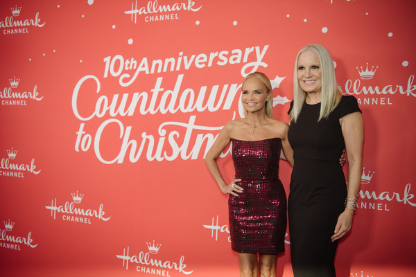 Los Angeles Special Screening Of Hallmark Channel's 'A Christmas Love Story' [a christmas love story,red,dress,premiere,fashion,event,cocktail dress,carpet,little black dress,flooring,michelle vicary,kristin chenoweth,montage beverly hills,los angeles,california,los angeles special screening of hallmark channel,screening]