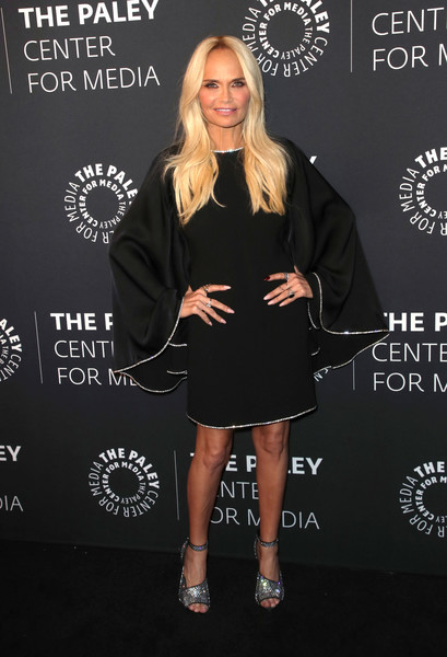 The Paley Honors: A Special Tribute To Television's Comedy Legends - Arrivals [clothing,dress,little black dress,fashion,cocktail dress,premiere,footwear,carpet,outerwear,style,paley honors: a special tribute to televisions comedy legends - arrivals,the paley honors: a special tribute to televisions comedy legends,beverly hills,california,beverly wilshire four seasons hotel,kristin chenoweth]