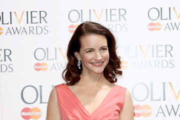 Kristin Davis Laurence Olivier Awards - Press Room