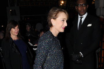 Kristin Scott Thomas Charles Finch & CHANEL Pre-BAFTA Dinner - Arrivals