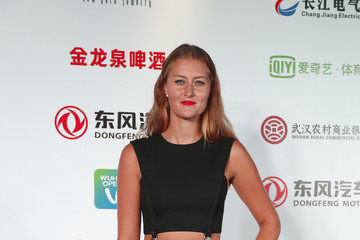 Kristina Mladenovic 2017 Wuhan Open - Players Party & Preview