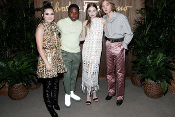 Kristine Froseth Charlie Plummer ELLE And Ferragamo Toast Hollywood Rising - Arrivals