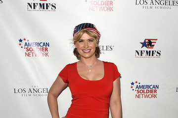 Kristy Swanson Salute To Heroes Service Gala To Benefit The National Foundation For Military Family Support