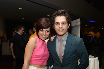 Krysta Rodriguez Andy Mientus Inside the 'TrevorLIVE NY' in NYC