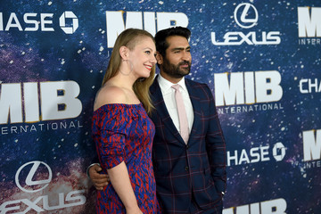 Kumail Nanjiani Emily V. Gordon World Premiere Of 'Men In Black International'