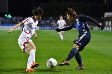 Kumi Yokoyama Japan v North Korea - AFC Women's Olympic Final Qualification Round