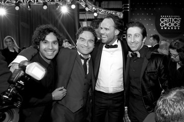 Kunal Nayyar The 23rd Annual Critics' Choice Awards - Inside