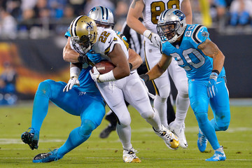 Kurt Coleman New Orleans Saints v Carolina Panthers