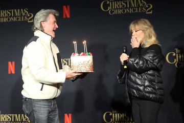 Kurt Russell Goldie Hawn European Best Pictures Of The Day - November 20