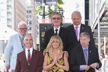 Kurt Russell Goldie Hawn and Kurt Russell Are Honored With Stars on the Hollywood Walk of Fame