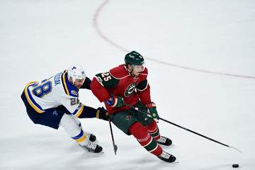 Kyle Brodziak St Louis Blues v Minnesota Wild