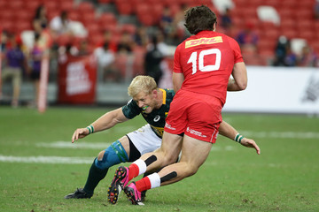Kyle Brown Singapore Sevens - Day 1