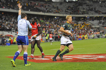 Kyle Brown HSBC South Africa Sevens
