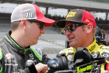 Kyle Busch Indianapolis Motor Speedway - Day 2