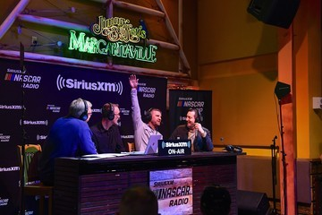 Kyle Busch Kevin Harvick Hosts His SiriusXM NASCAR Radio Show Live At Margaritaville